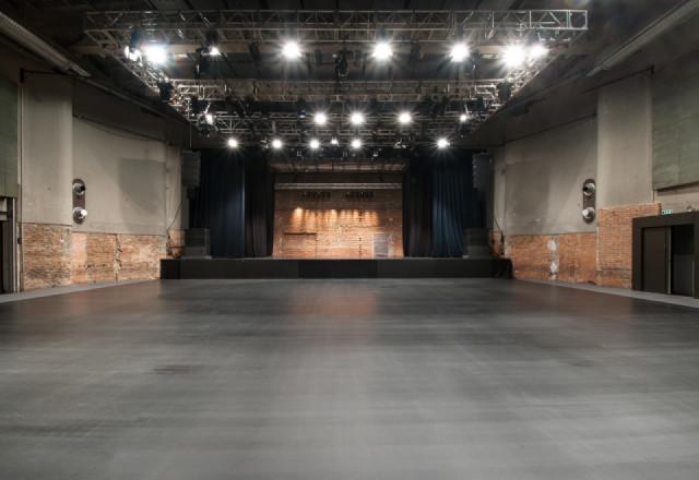 SZENE Theatre, no seats