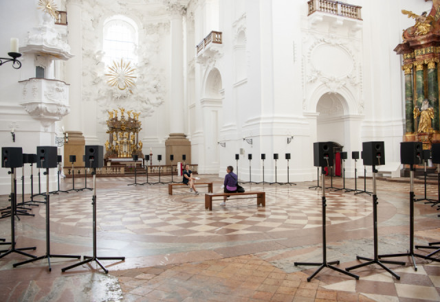 """Janet Cardiff """"The Forty Part Motet"""""""