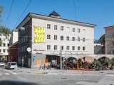 SZENE Salzburg Hausfassade