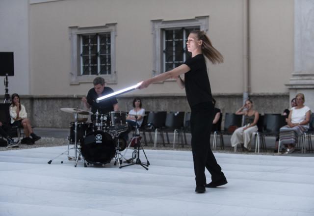 """Mette Ingvartsen & Will Guthrie """"All Around"""""""