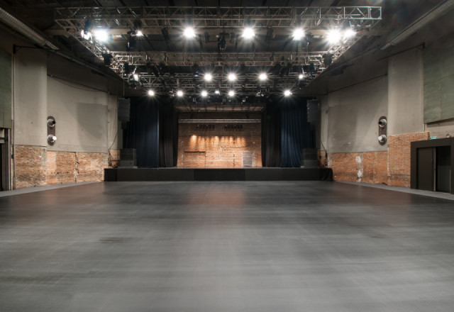 SZENE Salzburg Theatre, no seats